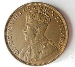 1918 CANADA CENT - AU - High Value Rare Vintage Coin - lot #L31