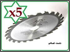 5 Blades 136mm x 20mm x 24T Wood Cutting Saw Blade for Makita BSS501