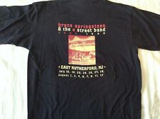 Bruce Springsteen & The E Street Band T-Shirt 1999 East Rutherford, Nj Xl