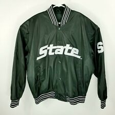 Michigan State Spartans Football Varsity Jacket - Steve and Barry's - Size L