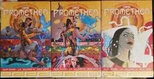 Promethea Deluxe 20th Anniv. HC Books 1-3 NEW complete 1-32 Moore Williams Klein