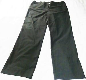 womens smart  black bootcut trousers size 20 24  stretch comfy fit canada c&a