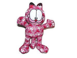 "Garfield Pink Red Valentine Hearts Plush Stuffed Animal Cat13 1/2"" Toy Factory"