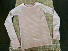 Girls Ivivva Pink Long Sleeve Shirt Top Athletic Shirt Sz Medium