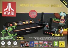 AT Games ATARI Flashback 9 Gold HD Retro Spielekonsole 120 Atari Spieleklassiker