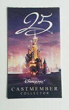 Ticket entree Disneyland Paris 1j/2parc Collection 25ème Anniversaire