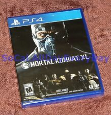 Mortal Kombat XL (PlayStation 4) BRAND NEW & SEALED Free Shipping!! x combat ps4