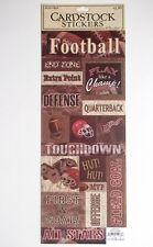 La carta da studio Cartoncino Adesivi-FOOTBALL AMERICANO