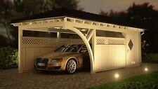 NEU Premium Carport 3.50 x 8.00 mit Geräteraum 33% Onlinerabatt Carport ab Werk