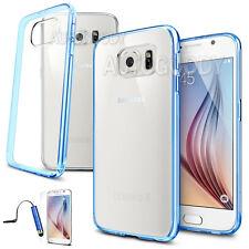 Slim Transparent Crystal Clear Hard TPU Case for Samsung Galaxy S6 / Edge #GS61