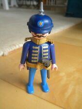 Playmobil Figur Gandarm Offizier Preussen mit Pickelhaube 1900 Bismarck Soldat