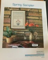 Barkraft Samplers Spring Sampler Heirloom Designs Cross Stitch Chart HTF