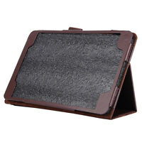 "Flip Leather Case Cover Stand for Samsung Galaxy Tab A 8.0 ""T350 Brown S9C4"