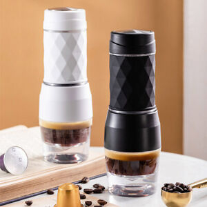 Mini Outdoor Portable Pressure Capsule Nespresso Manual Coffee Machine Maker Cup