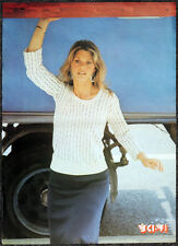 BIONIC WOMAN 1970'S POSTER . JAIME SOMERS . LINDSAY WAGNER . 8D