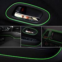 Green 5m Point Edge Gap Line Auto Car Interior Accessories Molding Decal FO