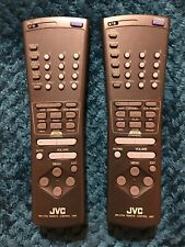 Jvc Remote Lot Of 2 Rm-C740/Rm-C754, Pre-owned