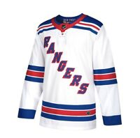 New York Rangers adidas Away Authentic Blank Jersey - White