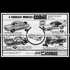 CORGI TOYS Rover 2000 TC Mini Marcos GT 1968 : Pub  Publicité Advert Ad #B643