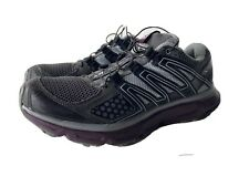 SALOMON XR MISSION 1 Men's Trail Running Hiking Shoes Size 8.5 Gray Purple