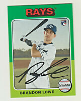 2019 Topps Archives #111 BRANDON LOWE RC Rookie Tampa Bay Rays