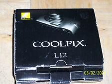NIKON Cool pix L12 7.1MP Digital Camera 018208255627 (Silver)