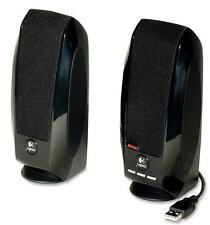 Logitech 980-000028 S-150 2.0 Speaker System - 1.2 W RMS - Black