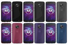 Motorola Lenovo Moto X4 Carbon S-Style S-Line TPU Schutzhülle Schutz Case Cover