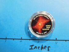 HUBBLE SPACE TELESCOPE 1999 PIC RED RECTANGLE NEBULA NASA KENNEDY HALF DOLLAR #2