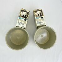 Soft Crate Dog Bowl Crock Mountable Happy Home Pet Products NEW Lot Of 2