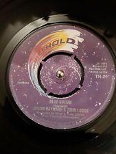 "Justin Hayward & John Lodge – Blue Guitar Vinyl 7"" TH21 1975"