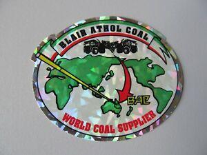 Coal Mining Stickers, Blair Athol Coal,