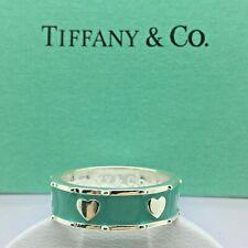 Sterling Silver Anillo ESTILO CORAZÓN AG 925 Genuine Tiffany & Co. bag