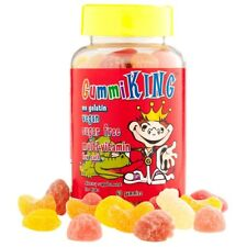 Sugar-Free Multi-Vitamin, For Kids, No Gelatin, Vegan, 60 Gummies - Gummi King