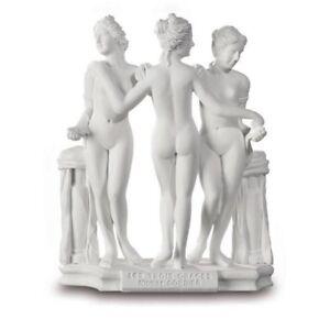Die drei Grazien - nach Cordier 12cm weiß