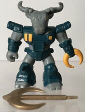 "Battle Beasts Roamin Buffalo #10 Series 1 Weapon No Rub Vintage Hasbro 2"" Figure"