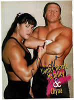 Chyna signed autographed 8x10 photo! RARE! AMCo Authenticated!