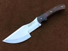 Custom Handmade 1095 Carbon Steel T- SERIES Tracker Knife,Hunting Knife, 1T1001