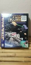 PC Star Wars X-Wing Alliance (1999) w/ Big Retail Box VG Condition New Sealed