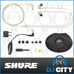 Shure SE535-CL 3 Way In-ear Earphones Sound Isolating – Clear