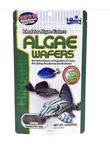 Hikari Algae Wafers 250g Fish Food for Plecos Bottom Feeders & Marine Herbivores