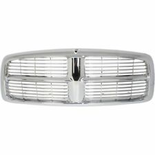 For Dodge Ram 1500 2002-2005 Ram 2500/3500 03-05 Grille Assembly Chrome Plastic