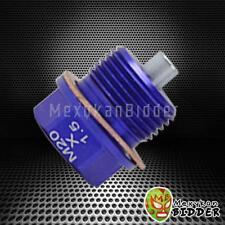 Blue M20X1.5mm Magnetic oil drain plug Bolt Subaru Forester WRX Impreza Legacy