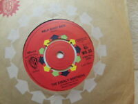 """Everly Brothers – Walk Right Back 1961 7"""" Warner Bros WB 33"""