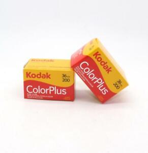 A pack of two Kodak ColorPlus 200 35mm Colour Film Rolls with 36 photos on each