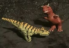 Disney's Animal Kingdom Carnotaurus Alsioramus Dinosaur Dinoland Toy Figure Lot