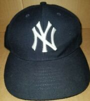 New York Yankees 47 Brand Black Adjustable Strap Hat Cap MLB