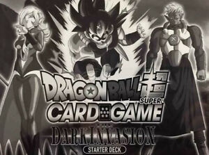Bandai Dragonball Super Dark Invasion - Starter Deck Display Box SW