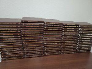 LOUIS L'AMOUR LEATHERETTE BOOKS *You choose drop down EUC *free ship *vintage