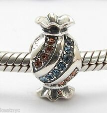 SWEET CANDY CHARM Bead Sterling Silver .925 for European Bracelets 695